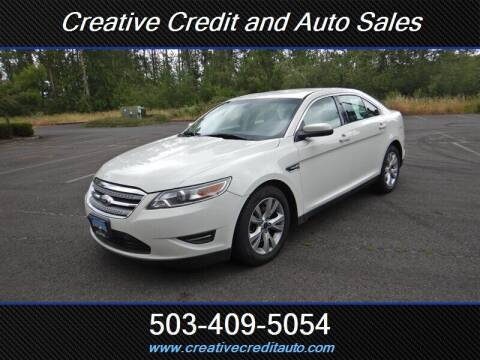 2012 Ford Taurus for sale at Creative Credit & Auto Sales in Salem OR
