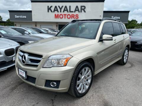 2011 Mercedes-Benz GLK for sale at KAYALAR MOTORS in Houston TX