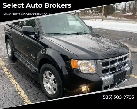 2009 Ford Escape Hybrid for sale at Select Auto Brokers in Webster NY