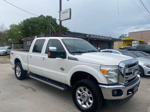 2014 Ford F-250 Super Duty for sale at Texas Luxury Auto in Houston TX