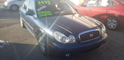 2005 Hyundai Sonata for sale at TC Auto Repair and Sales Inc in Abington MA