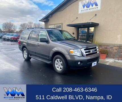 2011 Ford Expedition for sale at Western Mountain Bus & Auto Sales in Nampa ID