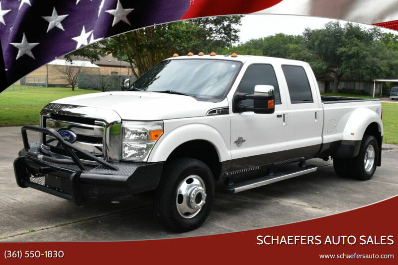 2016 Ford F-350 Super Duty for sale at Schaefers Auto Sales in Victoria TX