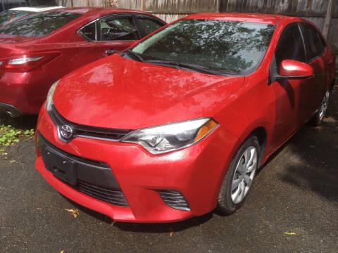 2015 Toyota Corolla for sale at MELILLO MOTORS INC in North Haven CT