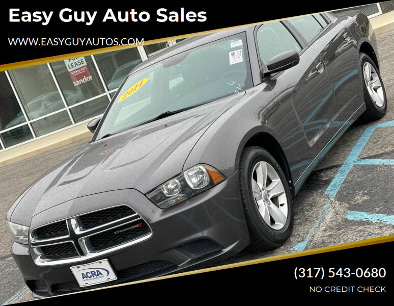 2014 Dodge Charger for sale at Easy Guy Auto Sales in Indianapolis IN
