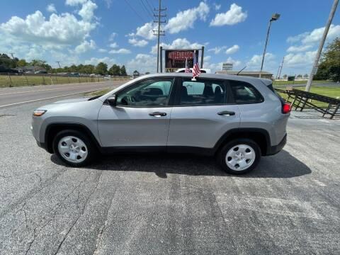 2015 Jeep Cherokee for sale at MYLENBUSCH AUTO SOURCE in O'Fallon MO