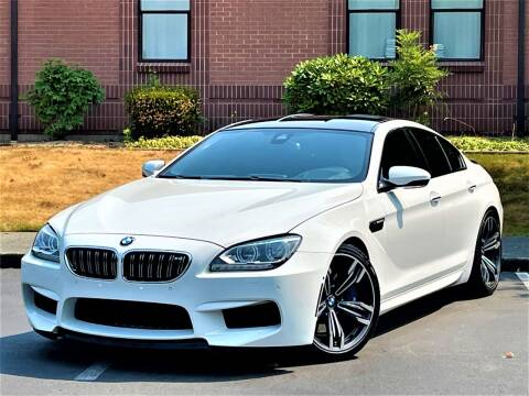 2015 BMW M6 for sale at SEATTLE FINEST MOTORS in Lynnwood WA