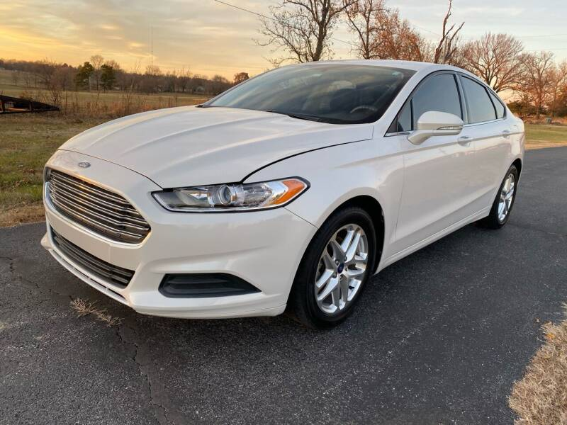 2013 Ford Fusion for sale at Champion Motorcars in Springdale AR