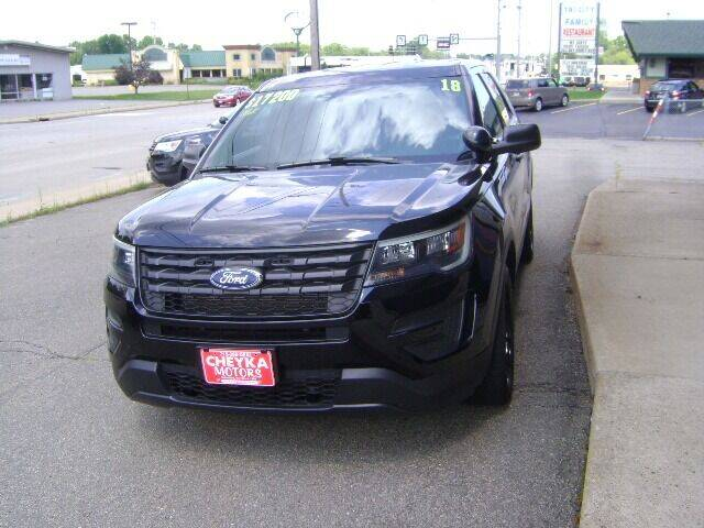 2018 Ford Explorer for sale at Cheyka Motors in Schofield WI