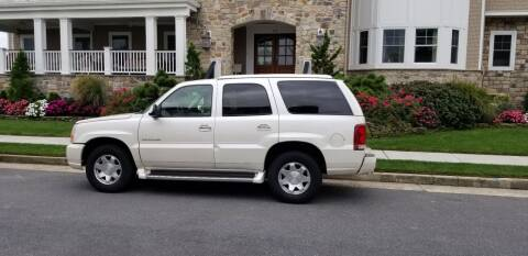 2002 Cadillac Escalade for sale at AC Auto Brokers in Atlantic City NJ