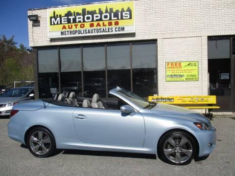2011 Lexus IS 250C for sale at Metropolis Auto Sales in Pelham NH