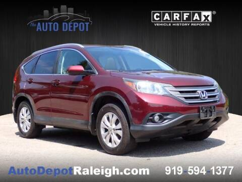 2014 Honda CR-V for sale at The Auto Depot in Raleigh NC