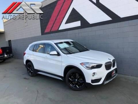 2018 BMW X1 for sale at Auto Republic Fullerton in Fullerton CA