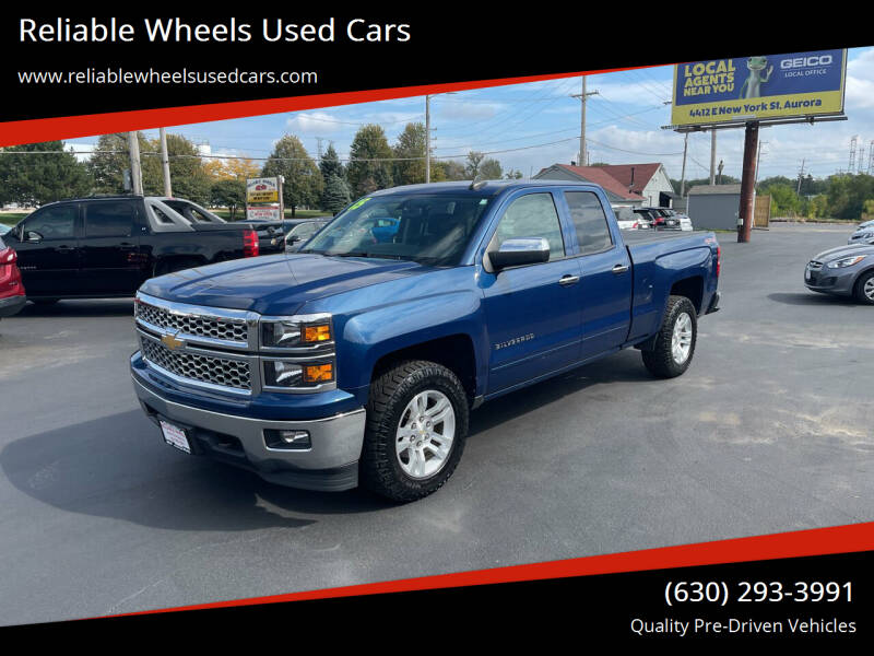 2015 Chevrolet Silverado 1500 for sale at Reliable Wheels Used Cars in West Chicago IL