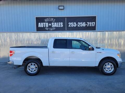 2014 Ford F-150 for sale at Austin's Auto Sales in Edgewood WA