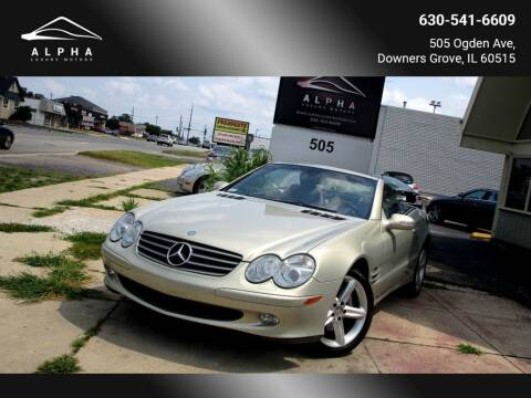 2003 Mercedes-Benz SL-Class for sale at Alpha Luxury Motors in Downers Grove IL