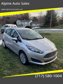 2016 Ford Fiesta for sale at Alpine Auto Sales in Carlisle PA