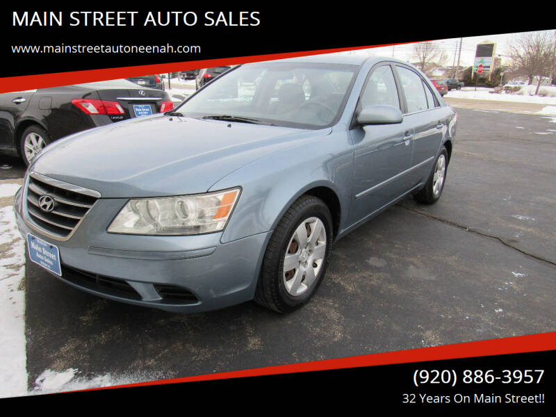 2009 Hyundai Sonata for sale at MAIN STREET AUTO SALES in Neenah WI