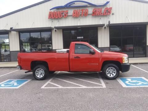 2008 Chevrolet Silverado 1500 for sale at DOUG'S AUTO SALES INC in Pleasant View TN