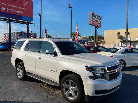 2017 Chevrolet Tahoe for sale at MACHADO AUTO SALES in Miami FL