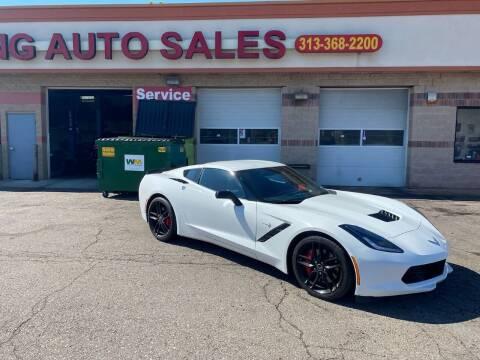 2014 Chevrolet Corvette for sale at KING AUTO SALES  II in Detroit MI