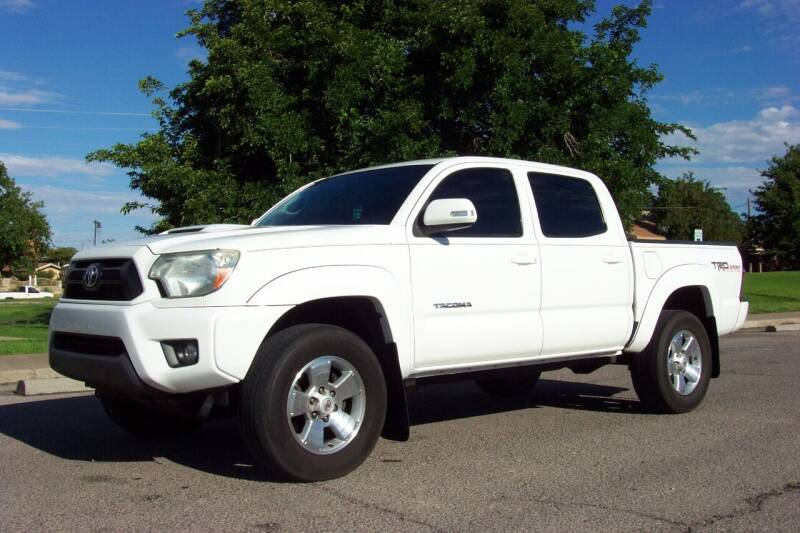 2014 Toyota Tacoma for sale at Park N Sell Express in Las Cruces NM