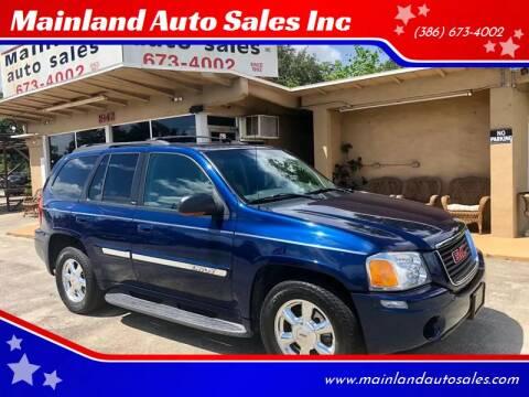 2003 GMC Envoy for sale at Mainland Auto Sales Inc in Daytona Beach FL