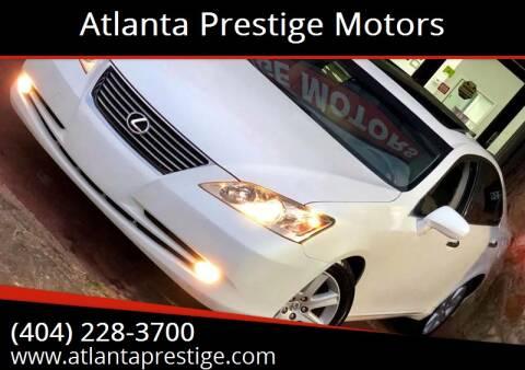 2008 Lexus ES 350 for sale at Atlanta Prestige Motors in Decatur GA