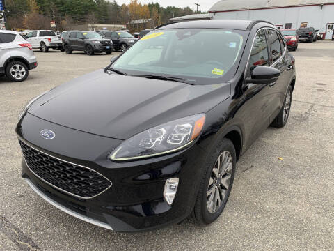 2020 Ford Escape for sale at Ripley & Fletcher Pre-Owned Sales & Service in Farmington ME