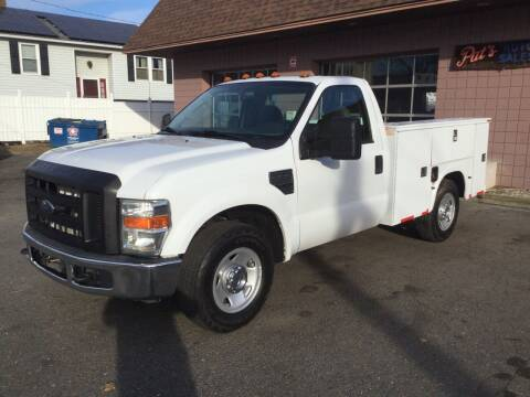 2008 Ford F-250 Super Duty for sale at Pat's Auto Sales, Inc. in West Springfield MA