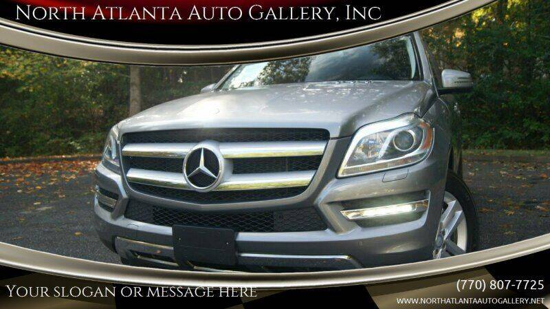 2014 Mercedes-Benz GL-Class for sale at North Atlanta Auto Gallery, Inc in Alpharetta GA