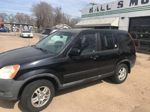 2004 Honda CR-V for sale at Hall's Motor Co. LLC in Wichita KS