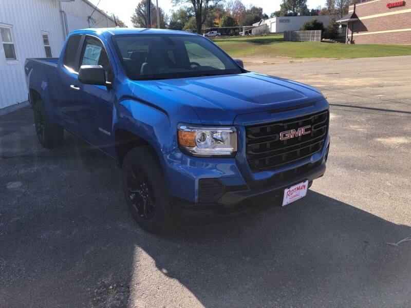 2021 GMC Canyon for sale at ROTMAN MOTOR CO in Maquoketa IA
