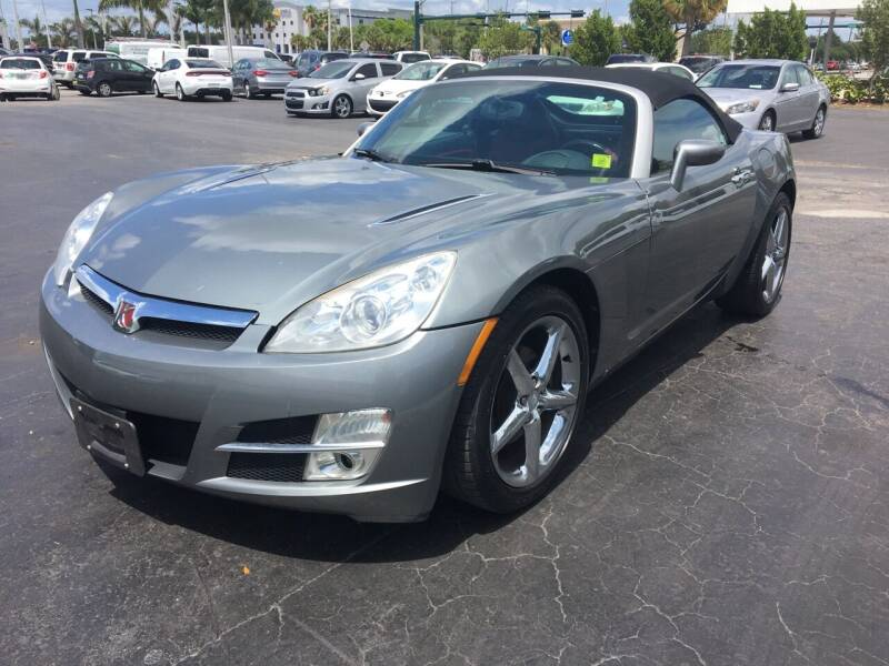 2007 Saturn SKY for sale at CAR-RIGHT AUTO SALES INC in Naples FL