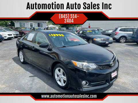 2014 Toyota Camry for sale at Automotion Auto Sales Inc in Kingston NY
