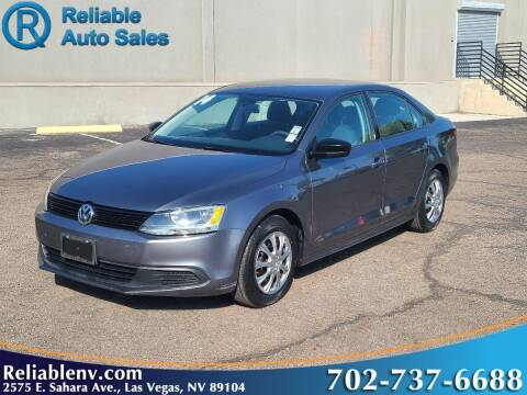 2014 Volkswagen Jetta for sale at Reliable Auto Sales in Las Vegas NV