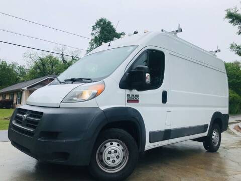2016 RAM ProMaster Cargo for sale at Cobb Luxury Cars in Marietta GA