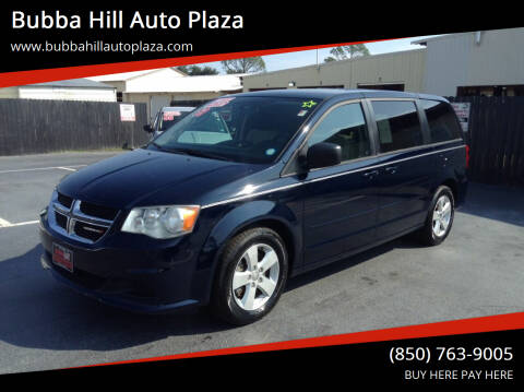 2013 Dodge Grand Caravan for sale at Bubba Hill Auto Plaza in Panama City FL