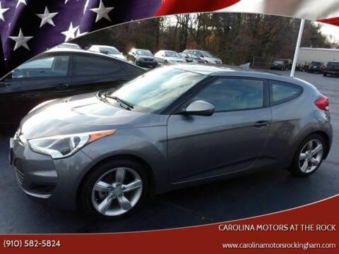 2015 Hyundai Veloster for sale at Carolina Motors at the Rock in Rockingham NC