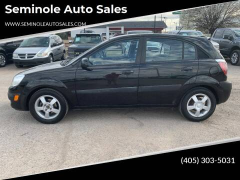 2006 Kia Rio5 for sale at Seminole Auto Sales in Seminole OK