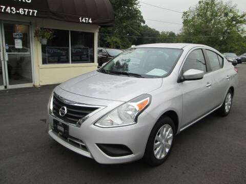 2016 Nissan Versa for sale at Downtown Motors in Macon GA