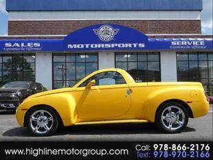 2004 Chevrolet SSR for sale at Highline Group Motorsports in Lowell MA