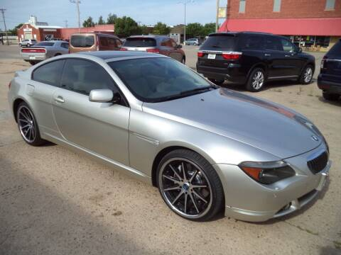 2005 BMW 6 Series for sale at Apex Auto Sales in Coldwater KS