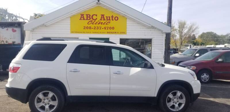 2012 GMC Acadia for sale at ABC AUTO CLINIC - Chubbuck in Chubbuck ID