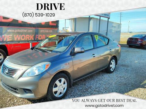 2014 Nissan Versa for sale at Drive in Leachville AR
