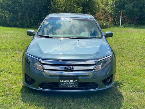 2011 Ford Fusion for sale at Lewis Blvd Auto Sales in Sioux City IA