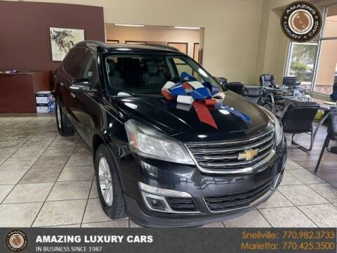 2014 Chevrolet Traverse for sale at Amazing Luxury Cars in Snellville GA