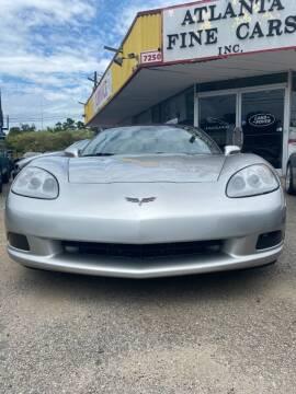 2006 Chevrolet Corvette for sale at Atlanta Fine Cars in Jonesboro GA