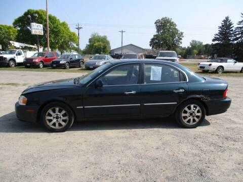 2004 Kia Optima for sale at D & T AUTO INC in Columbus MN