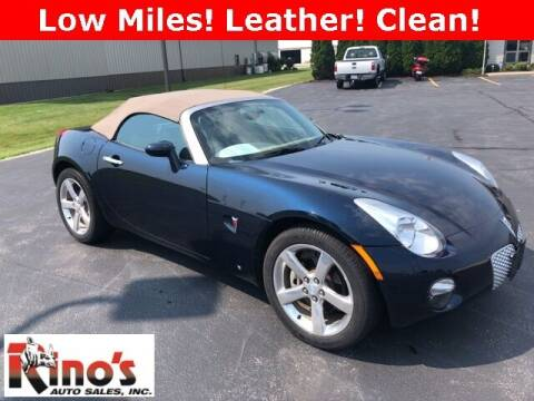 2007 Pontiac Solstice for sale at Rino's Auto Sales in Celina OH